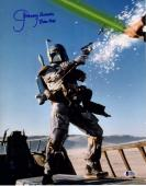 "JEREMY BULLOCH Signed STAR WARS ""Boba Fett"" 11x14 Photo BECKETT BAS #C83441"