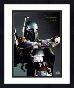"JEREMY BULLOCH Signed STAR WARS ""Boba Fett"" 11x14 Photo BECKETT BAS #C83448"