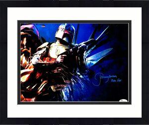 "JEREMY BULLOCH Signed STAR WARS ""Boba Fett"" 11x14 Photo JSA Witnessed #WP234511"
