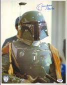 "JEREMY BULLOCH Signed STAR WARS ""Boba Fett"" 11x14 Photo PSA/DNA #Y94494"
