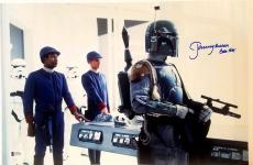 "JEREMY BULLOCH Signed STAR WARS ""Boba Fett"" 12x18 Photo BECKETT BAS # C83501"