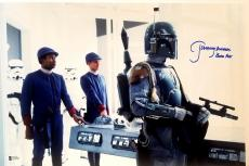 "JEREMY BULLOCH Signed STAR WARS ""Boba Fett"" 12x18 Photo BECKETT BAS # C83505"