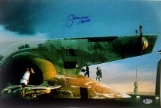 "JEREMY BULLOCH Signed STAR WARS ""Boba Fett"" 12x18 Photo BECKETT BAS # C83507"
