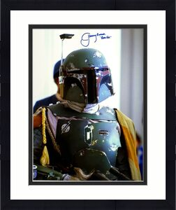 "JEREMY BULLOCH Signed STAR WARS ""Boba Fett"" 16x20 Official Pix Photo PSA/DNA"
