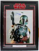 Jeremy Bulloch Signed Star Wars Boba Fett 16x20 Photo Framed Beckett Bas #c87566