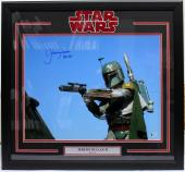 Jeremy Bulloch Signed Star Wars Boba Fett 16x20 Photo Framed Beckett Bas #c87591