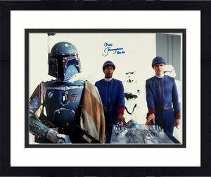 "JEREMY BULLOCH Signed STAR WARS ""Boba Fett"" 16x20 Photo JSA Witnessed #WP234372"