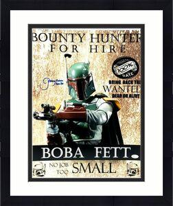 "JEREMY BULLOCH Signed STAR WARS ""Boba Fett"" 16x20 Photo JSA Witnessed #WP234380"