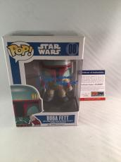 Jeremy Bulloch Signed Star Wars Boba Fett Funko Pop Figure Psa Dna 3