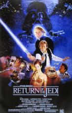 Jeremy Bulloch Signed Star Wars Return of the Jedi 24x36 Movie Poster