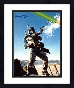 "Jeremy Bulloch Star Wars ""Boba Fett"" Signed 11x14 Photo BAS Witnessed #K89796"