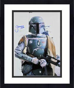 Jeremy Bulloch Star Wars Boba Fett Signed 16x20  Licensed Topps Photo BAS Wit 2