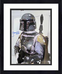 Jeremy Bulloch Star Wars Boba Fett Signed 16x20  Licensed Topps Photo BAS Wit 1