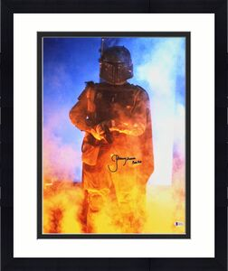"Jeremy Bulloch Star Wars ""Boba Fett"" Signed 16x20 Vertical Photo BAS Witnessed 4"
