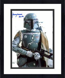 "Jeremy Bulloch Star Wars ""Boba Fett"" Signed 8x10 Topps Photo Autographed BAS 7"
