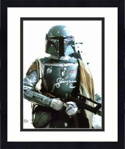 """Jeremy Bulloch Star Wars """"Boba"""" Signed Topps s 8x10 Photo BAS #K89730"""
