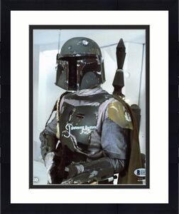 Jeremy Bulloch Star Wars Signed 8x10 Topps Photo Autographed BAS Witnessed 2