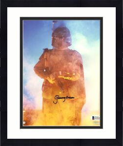Jeremy Bulloch Star Wars Signed 8x10 Topps Photo Autographed BAS Witnessed 4