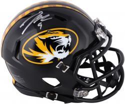 Jeremy Maclin Missouri Tigers Autographed Mini Helmet