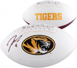 Jeremy Maclin Missouri Tigers Autographed White Panel Football