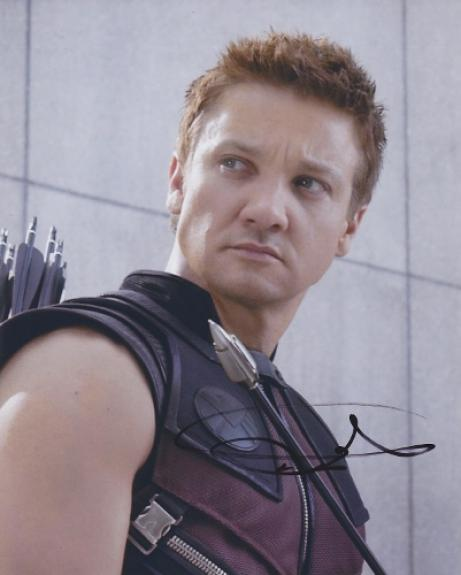 Jeremy Renner Signed - Autographed AVENGERS 8x10 inch Photo - Guaranteed to pass BAS