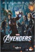 "Jeremy Renner Hawkeye Autographed 12"" x 18"" Marvel Avengers Photograph - JSA"