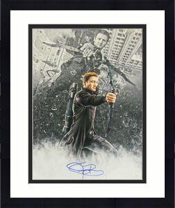 Jeremy Renner HAWKEYE AVENGERS Signed/Autographed 16x20 Photo JSA 143033