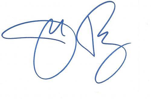 "JERI RYAN as SEVEN of NINE on TV Series ""STAR TREK: VOYAGER"" Signed 6x4 Index Card"