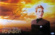 Jeri Ryan Signed Autographed 11X17 Photo Star Trek: Voyager 7 of 9 Beckett COA
