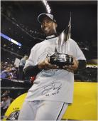 "Jermaine Dye Chicago White Sox Autographed 16"" x 20"" Photograph with WS MVP Inscription-Limited Edition of 123"