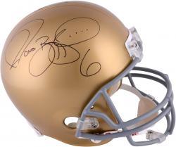 Jerome Bettis Notre Dame Autographed Authentic Riddell Replica Helmet
