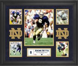 Jerome Bettis Notre Dame Fighting Irish Framed 5-Photo Collage