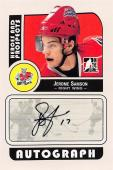 Jerome Samson autographed Hockey Card (River Rats) 2008 In the Game Prospects #AJSA
