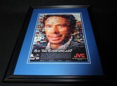 Jerry Bruckheimer 2004 JVC Framed 11x14 ORIGINAL Vintage Advertisement
