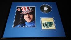 Jerry Garcia Framed 16x20 Grateful Dead Working Man's Dead CD & Photo Set
