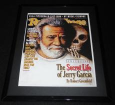 Jerry Garcia Framed August 8 1996 Rolling Stone Cover Display Grateful Dead