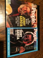 Jerry Garcia Grateful Dead People Magazine 2 Tribute Death Issue Mint 1995