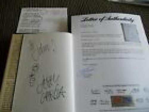 Jerry Garcia Grateful Dead Signed Autographed HB Book W/ Sketch PSA Certified