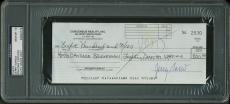 Jerry Garcia Greatful Dead Signed 1990 Check Auto Grade Gem Mint 10! PSA Slabbed