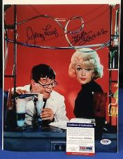 Jerry Lewis And Stella Stevens Signed 11x14 Photo - PSA/DNA # W52298