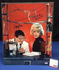 Jerry Lewis And Stella Stevens Signed 16x20 Photo - PSA/DNA # W52589