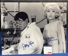 Jerry Lewis And Stella Stevens Signed 16x20 Photo - PSA/DNA # W52586