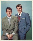 Jerry Lewis & Dean Martin Comedy Team Signed Photo 2 Autograph Jsa Authenticated