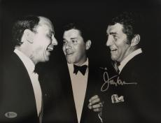 JERRY LEWIS Signed 11x14 Photo Frank Sinatra - Dean Martin Beckett BAS COA Proof