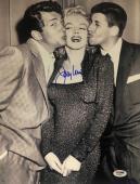 JERRY LEWIS Signed 11x14 w/ MARILYN MONROE & DEAN MARTIN AUTO PSA/DNA COA!