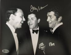 JERRY LEWIS Signed 8x10 Photo Frank Sinatra - Dean Martin Beckett BAS COA Proof