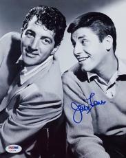 Jerry Lewis Signed 8x10 Photo PSA/DNA Auto Autograph With Dean Martin