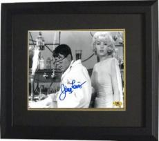 Jerry Lewis signed B&W The Nutty Professor 8x10 Photo w/ Stella Stevens Custom Framed (movie/comedian/entertainment)