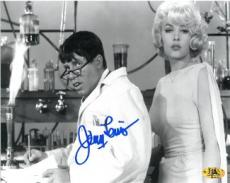 Jerry Lewis signed B&W The Nutty Professor 8x10 Photo w/ Stella Stevens (movie/comedian/entertainment)