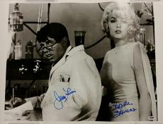 JERRY LEWIS + STELLA STEVENS Signed 16x20 Canvas #2 The Nutty Professor PSA/DNA